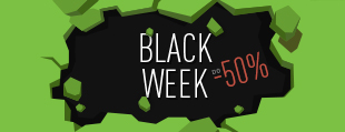 Black Week - Tniemy Ceny do 50%