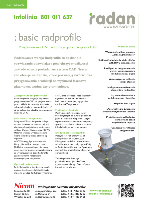 Radan Basic Profile