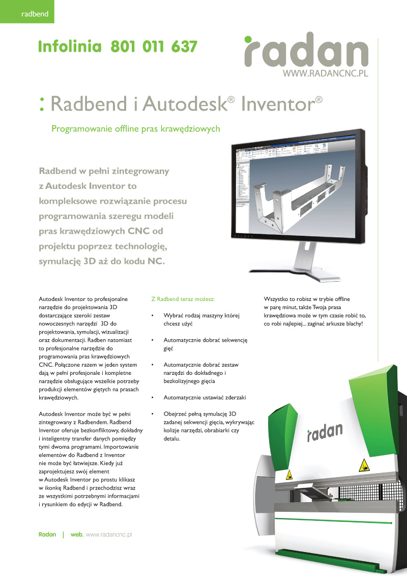 Radbend for Inventor